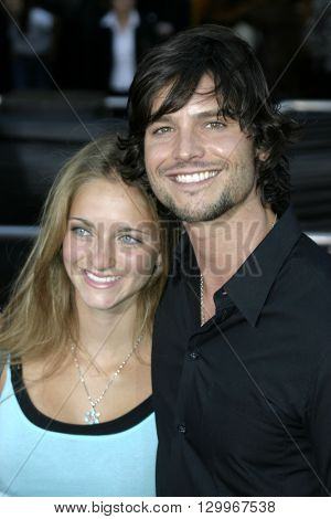 Jason Behr at the Los Angeles premiere of 'Collateral' held at the Orpheum Theatre in Los Angeles, USA on August 2, 2004.