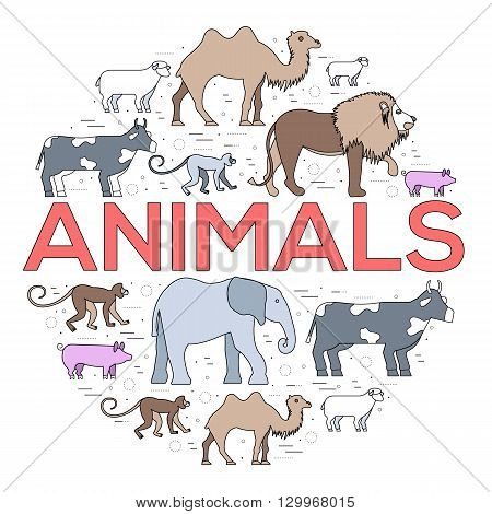 Zoo circle. Zoo animals. Zoo image. Zoo picture. Zoo jpg. Zoo eps. Zoo set. Zoo concept. Zoo design. Zoo thin line. Zoo outline. Zoo cover. Zoo vector. Zoo background. Zoo stock. Zoo art. Zoo element.