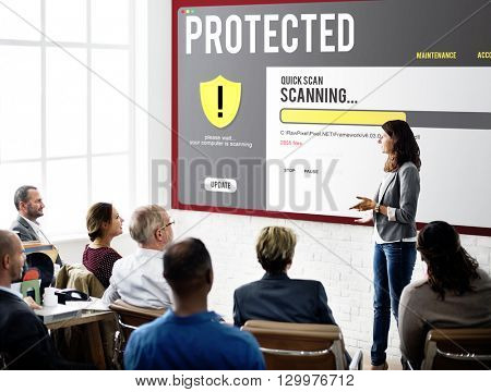 Protected Privacy Scanning Security Concept