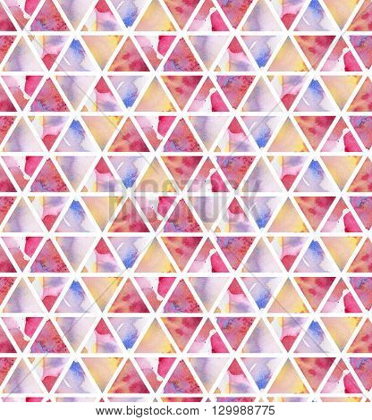 Watercolor background for your design.  Seamless pattern
