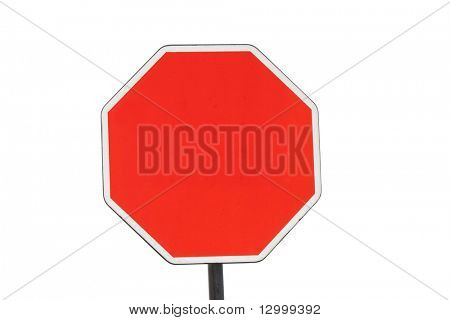 Road sign - BLANK