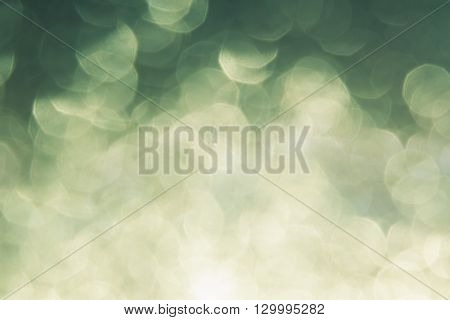 Abstract blurred background. Green background. Bokeh. Blurred background.