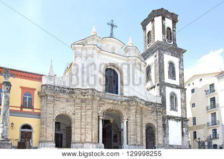 Saint Antony ad Saint Francis church in Cava de Tirreni Salerno Italy built in 1542
