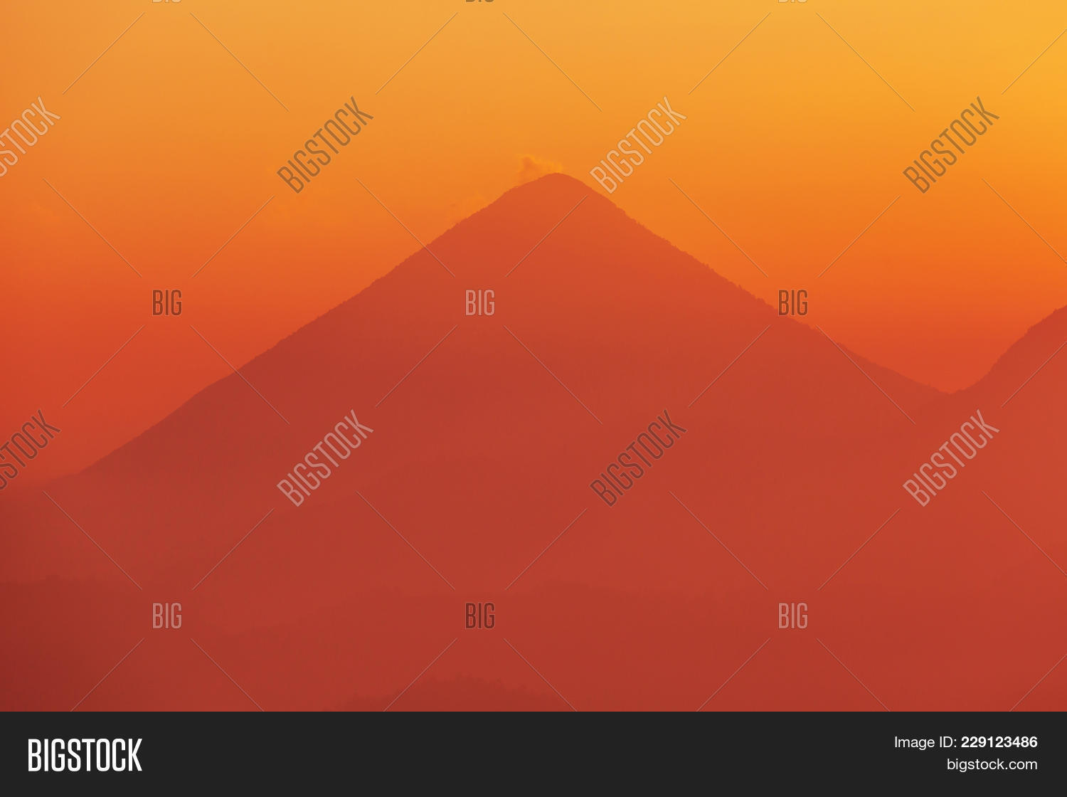 Beautiful volcanoes powerpoint template powerpoint template y toneelgroepblik Image collections