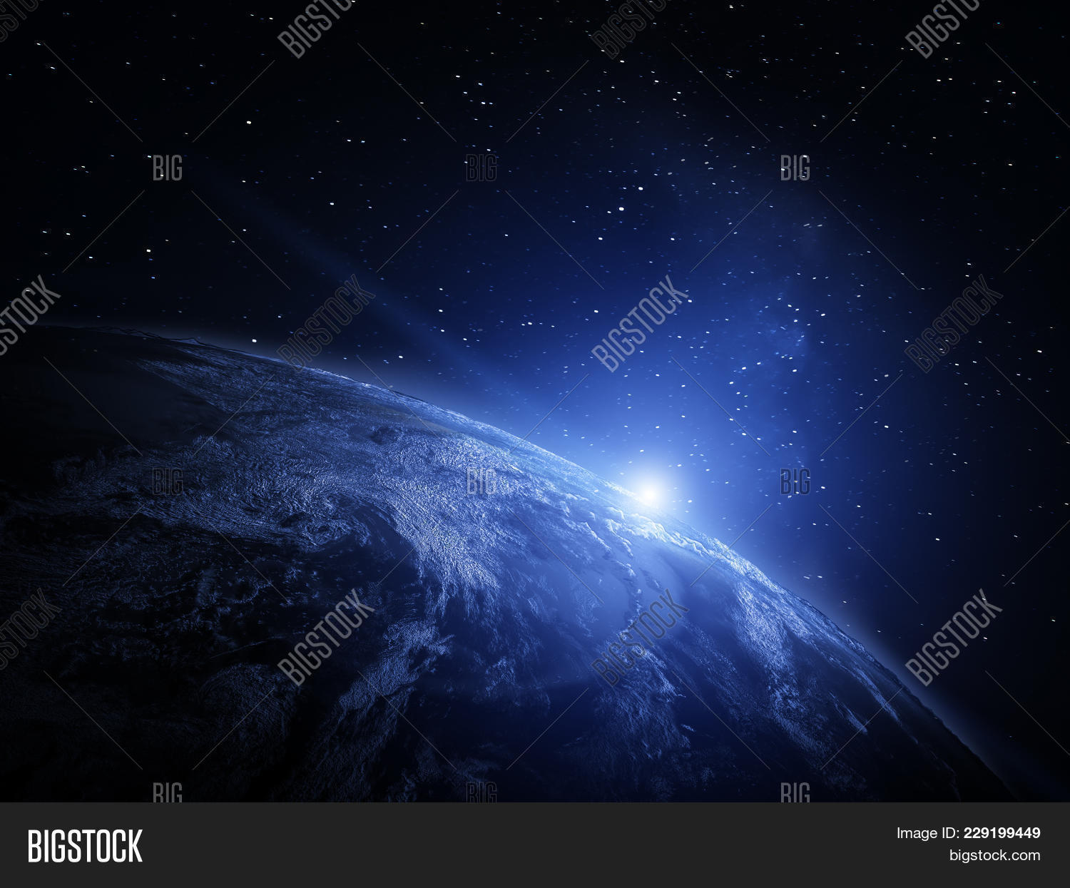 world from space powerpoint template world from space powerpoint