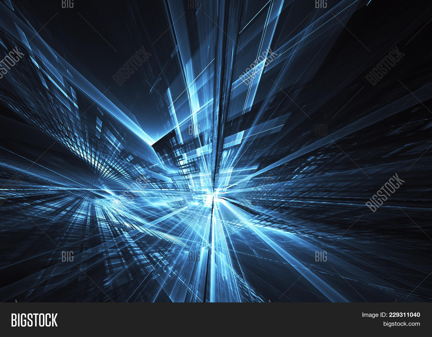 Information generated abstract technological powerpoint template p toneelgroepblik Choice Image