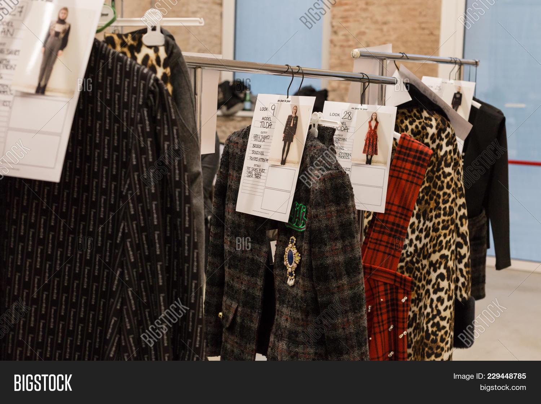 2b6348b289 Clothes Rack Backstage Image   Photo (Free Trial)