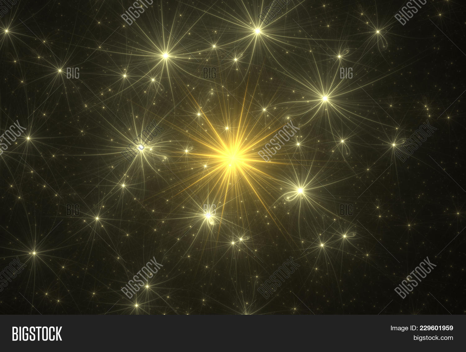 Fractal bright abstract gold powerpoint template fractal bright your text toneelgroepblik Images