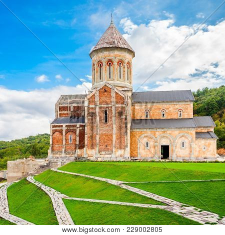 Bodbe Monastery Monastery Of St. Nino At Bodbe Is A Georgian Orthodox Monastic Complex And The Seat