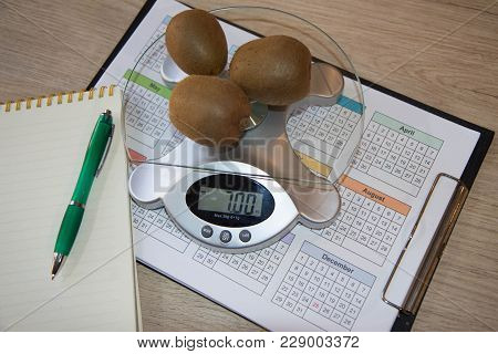 Diet And Nutrition. The Concept Of Dieting, Losing Excess Weight