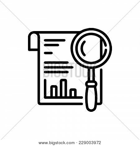 Report Icon Isolated On White Background. Report Icon Modern Symbol For Graphic And Web Design. Repo