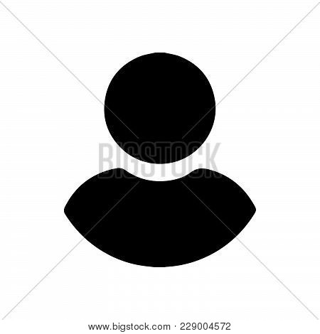 User Person Icon Isolated On White Background. User Person Icon Modern Symbol For Graphic And Web De