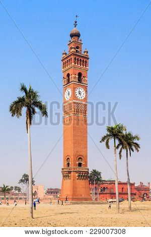 Husainabad Clock Tower Ghanta Ghar Tower Is A Clock Tower Located In The Lucknow City Of India