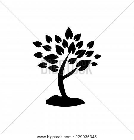 Tree Icon Isolated On White Background. Tree Icon Modern Symbol For Graphic And Web Design. Tree Ico