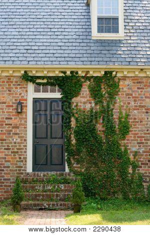 Brick Moss House