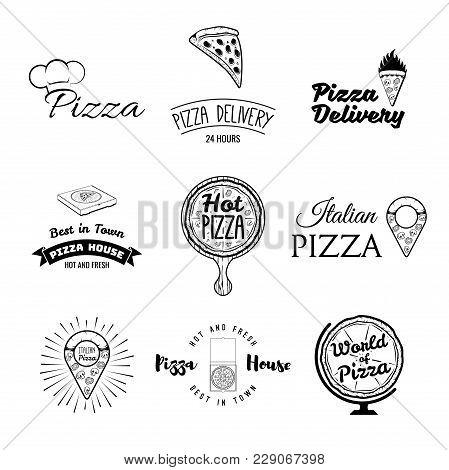 Vintage Pizzeria Vector & Photo (Free Trial) | Bigstock