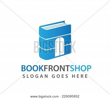 Smart Learning Education Book Shop Store Vector Logo Design