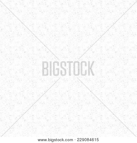 Subtle Halftone Seamless Vector Texture. Abstract Layout For Adding Roughness To Illustration And De
