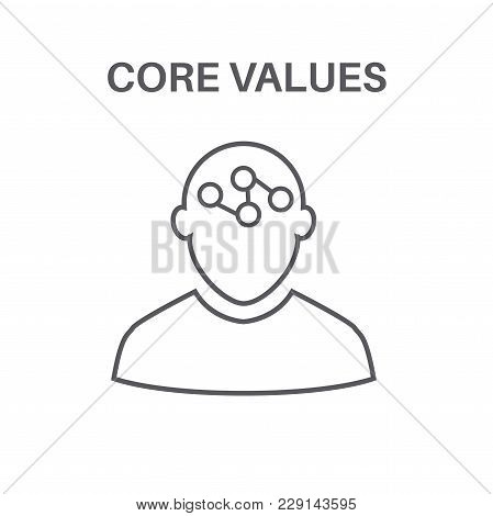 Core Values With Social Responsibility Image - Business Ethics & Trust