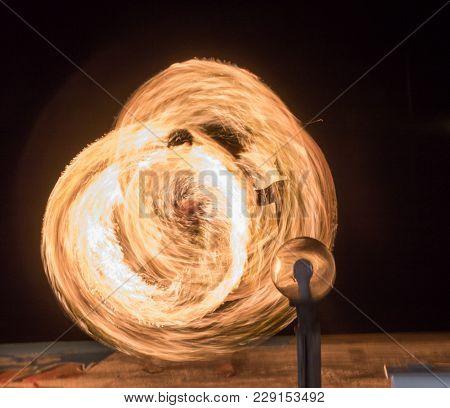 Wielding Fireball