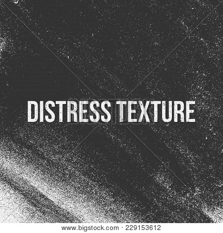 Distress Vector Texture Like A Grain, Dirt Or Chalk
