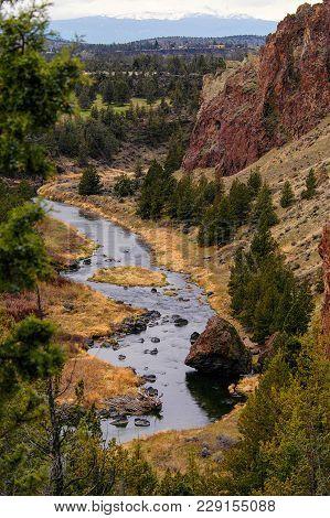Deschutes River - Smith Rock State Park, Terrebon, Or