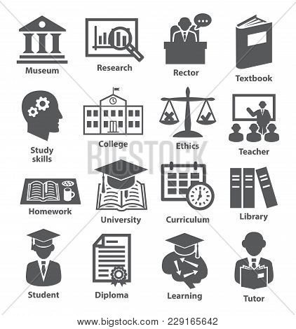 Business Management Icons Pack 39 Icons For Education, Career, Training And Tutorship