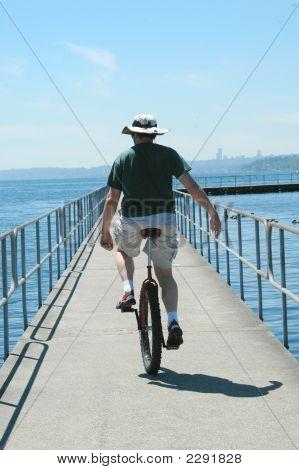 Unicyclist
