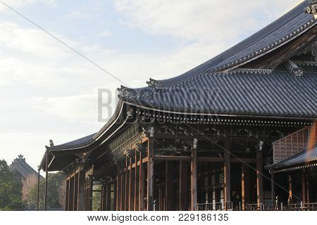 Founder's Hall Of Nishi Hongan Temple, Kyoto, Japan