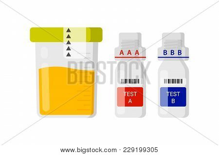 Laboratory Test For Doping. Concept For The Maintenance Of Medicines In The Urine Of Athletes. Conta