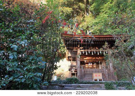 Kasuga Shrine Of Ujigami Shrine In Kyoto, Japan