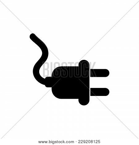 Plug Icon Isolated On White Background. Plug Icon Modern Symbol For Graphic And Web Design. Plug Ico