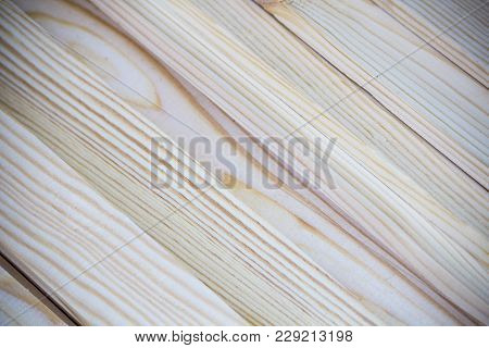 Close Up Isolated Photo Of Soft Weathered Hand Cut Wooden Slats Kindling At A Diagonal For Backgroun