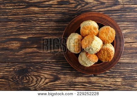 Tasty Freshly Baked Homemade English Scones