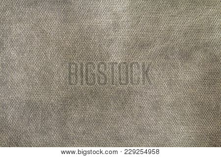 Grey Textured Cloth For Usage As Background