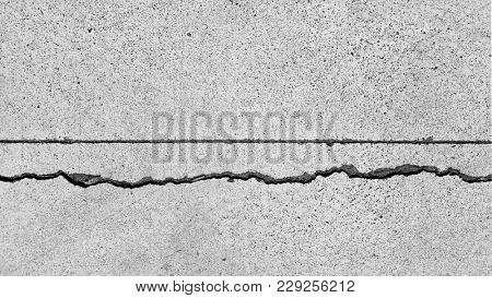 Urban grunge textures, concrete background, cracks on walkway, distressed texture, grunge surface