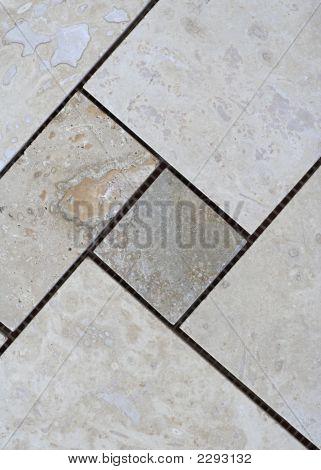 Sheet Of Travertine Tiles