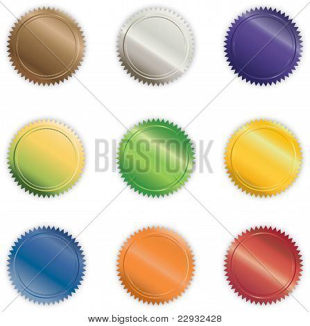 Vibrant Shiny Buttons