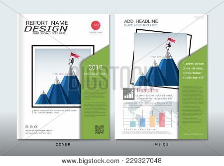 Covers Design With Space For Photo Background, Can Be Adapt To Annual Report, Brochure, Flyer, Leafl