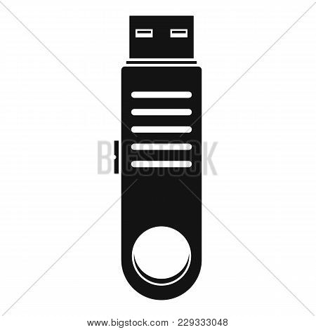 Usb Icon. Simple Illustration Of Usb Vector Icon For Web