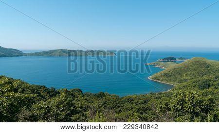 Beautiful Blue Water Bay, Crystal Clean Water