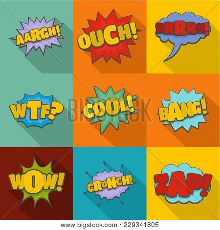 Overturn Icons Set. Flat Set Of 9 Overturn Vector Icons For Web Isolated On White Background