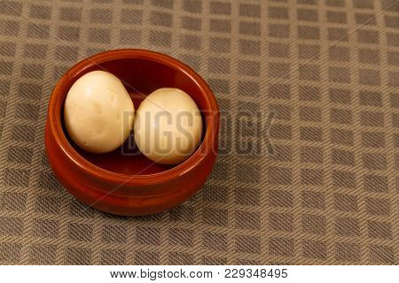 Two Pickled Eggs