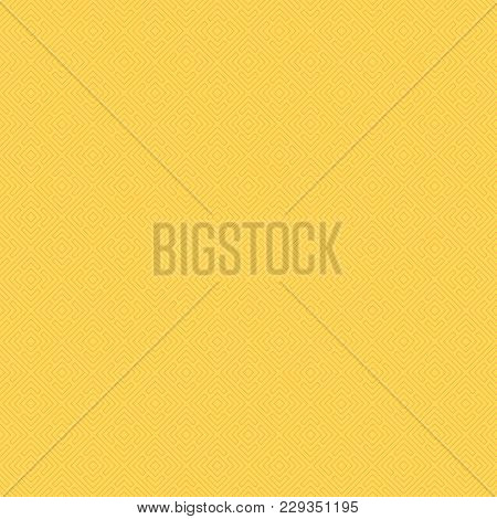 Vector Color Seamless Pattern. Regularly Repeating Geometric Tiles Of Rhombuses. Abstract Geometric