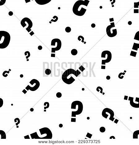 Question Marks Or Interrogation Pattern