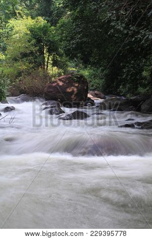 Waterfalls In Thailand In The National Park, Nakhon Nayok.