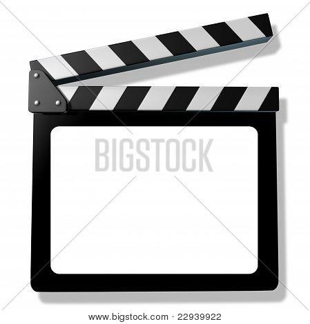 Blank Film Slate Or Clapboard