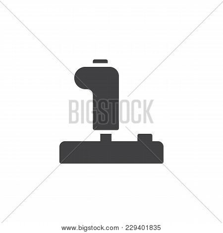 Joystick Vector Icon. Filled Flat Sign For Mobile Concept And Web Design. Control Video Game Joystic