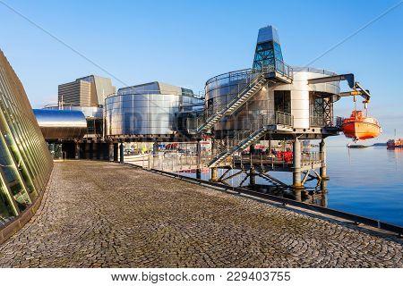 Norwegian Petroleum Museum Or Norsk Oljemuseum In Stavanger, Norway. Norwegian Petroleum Museum Is A