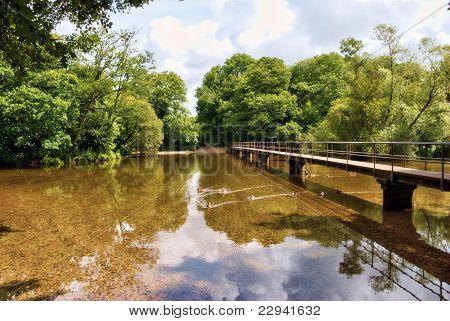 Ford en el río Frome